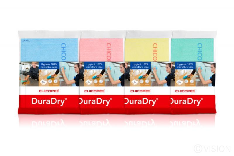Chicopee DuraDry cleaning wipe - range