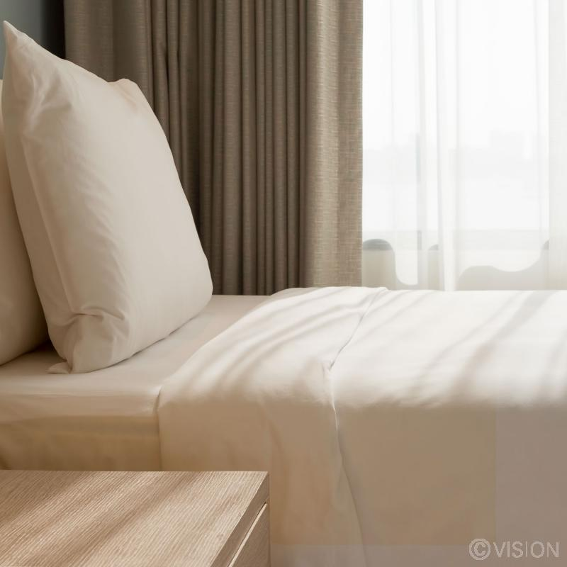 Cream Polycotton Bed Pack in single size