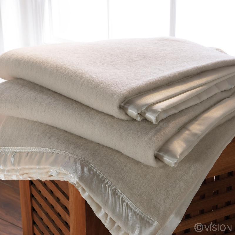 Plain FR Camel Coloured Blanket