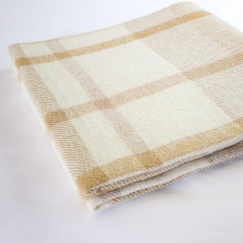 Flame Retardant Check Blanket