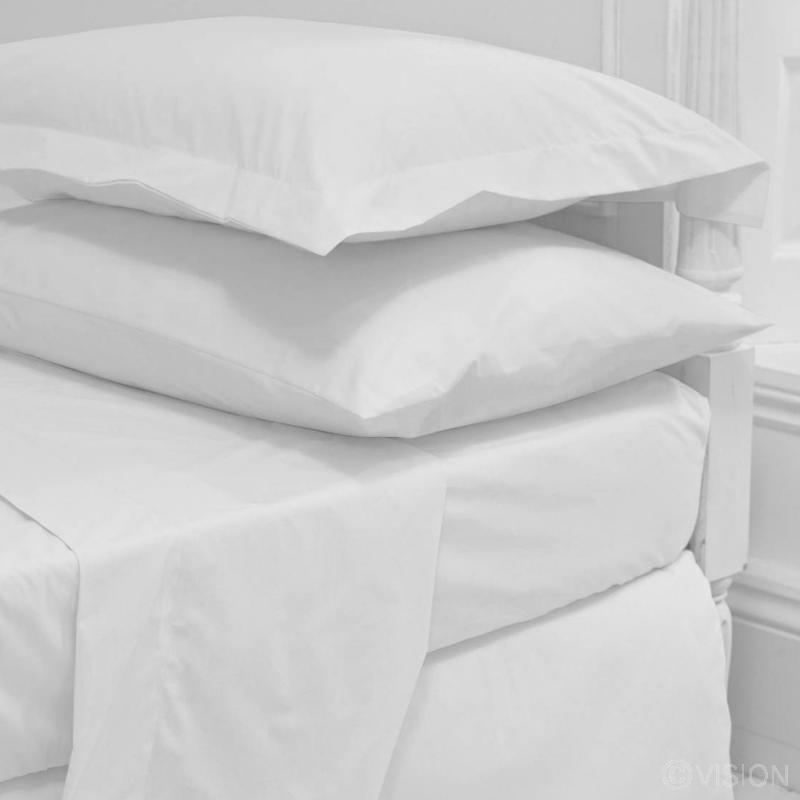 130 TC Cotton Rich Flat Bed Sheet