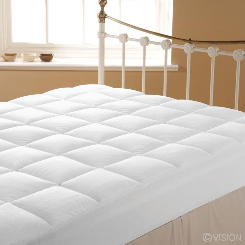 Liddell luxury plush mattress enhancer / topper for hotels