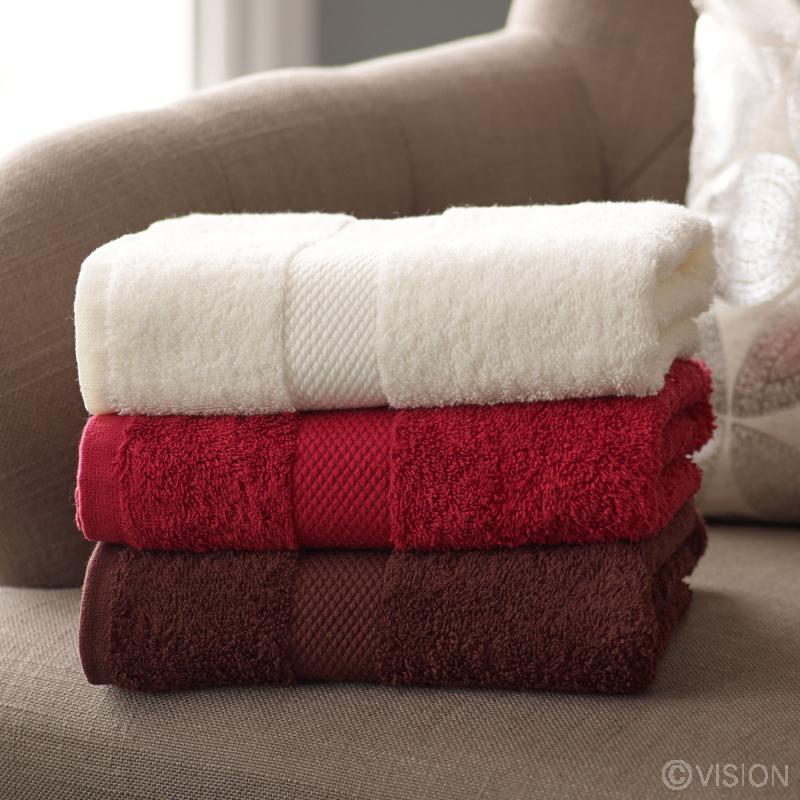 Quality coloured cotton bath towel