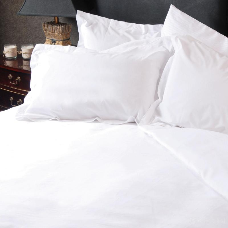 Hotel Pure Luxury 100% Cotton Percale Double Duvet Cover