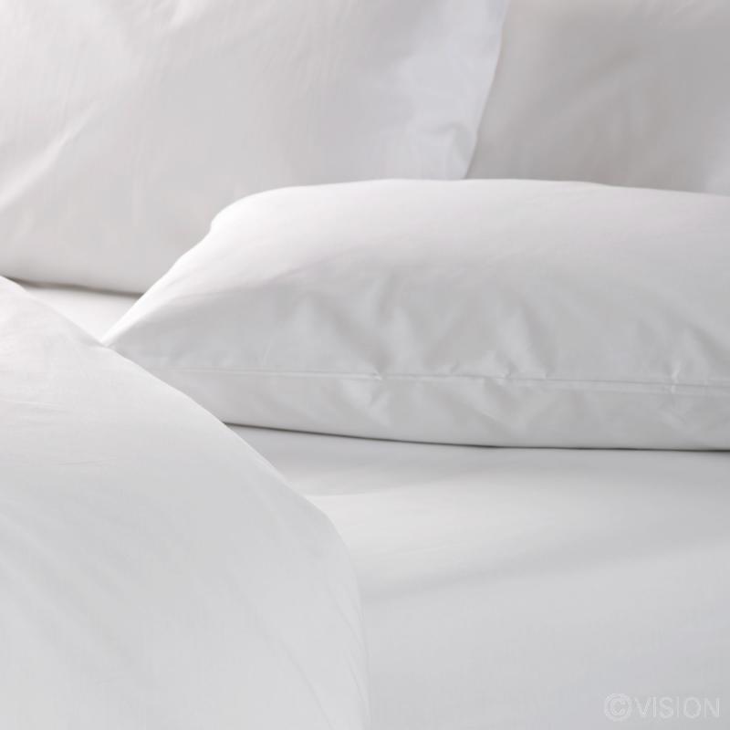 144 TC Housewife Style Polycotton Pillowcase