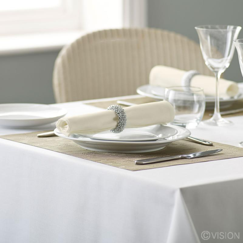 Riegel ivory coloured bulk napkins