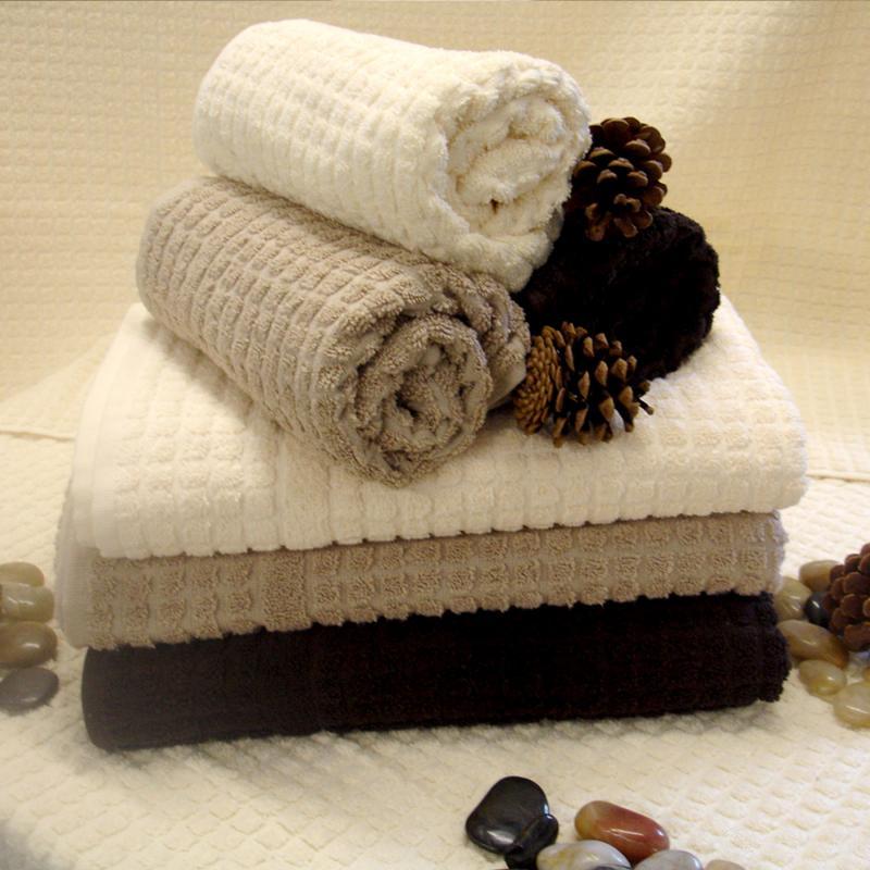 Mosaic Coloured 100% Cotton luxury Hand Towel