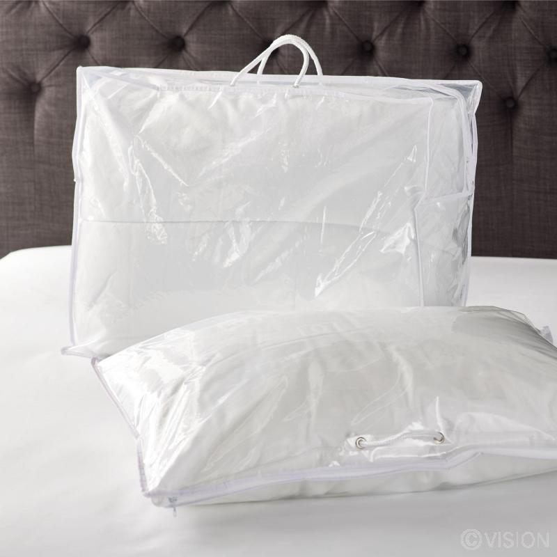 Blanket pillow storage bags