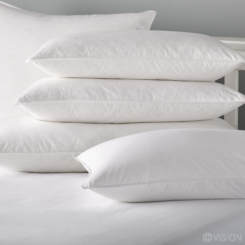 Ballycastle luxury goose feather and down pillows