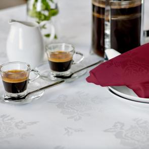 Apollo Rose burgundy coloured stain resistant napkins
