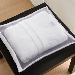 Quality Bathrobe mesh storage bag