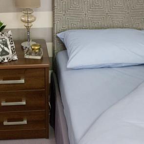 Blue Flame Retardant Housewife Style Pillowcase