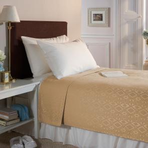Cream 100% Polyester Blanket