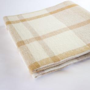 Flame Retardant Check Blanket
