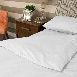 White Fire Retardent pillowcase