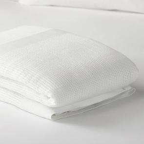 White Anti Allergy Blanket