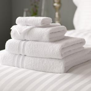 Lowry 100% Cotton white quality Bath Sheet