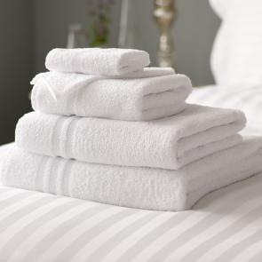 Lowry Bath Towel - White