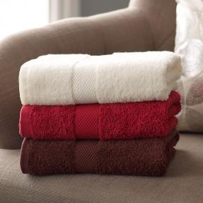 Quality coloured cotton bath towel