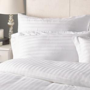 180 TC Cotton Satin Stripe Pillowcase