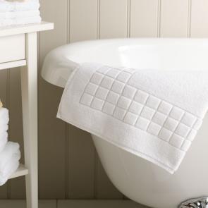 Luxury turkish cotton bath mat