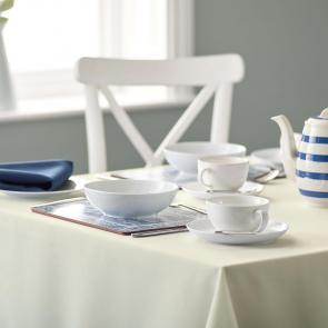 Riegel Premier Ivory Tablecloth 100% Spun Polyester