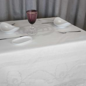 Commemorative Liddell Titanic tablecloth set 100% linen