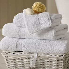 Renoir white 100% cotton face cloth bulk