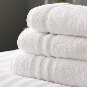 100% combed White cotton hotel bath sheet