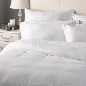 Milano 2cm satin stripe duvet set