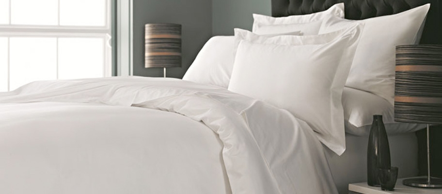 Smooth White Bed
