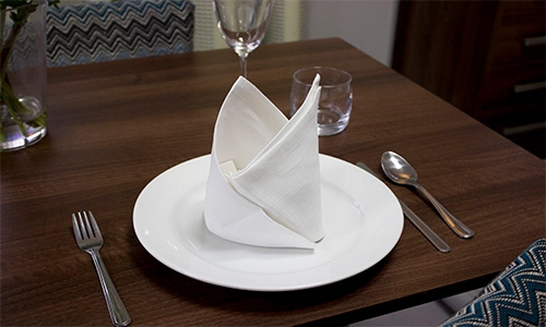 The Bishop's Hat Napkin
