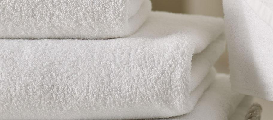 Cambridge White Cotton Bath Towels