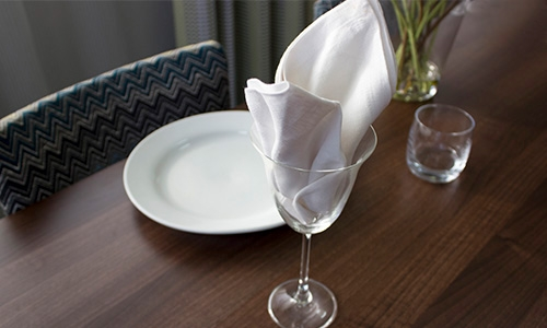 The Lilly Goblet Napkin