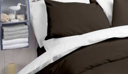 Orta polycotton coloured duvet covers