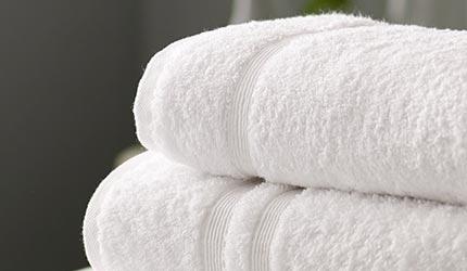 Van Gogh 100% Combed Cotton Bath Sheet - White
