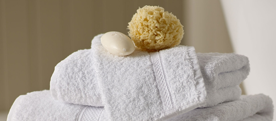 Turkish Cotton Towels with Soap and Sponge